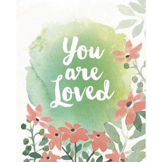 Yellow Bird Paper Greetings You Are Loved Greeting Card