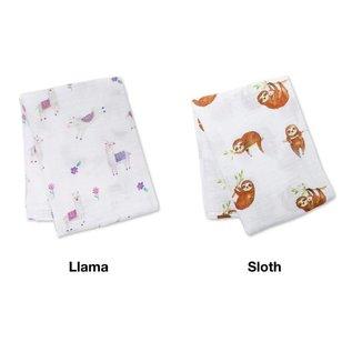 Lulujo Lulujo Muslin Swaddling Blanket