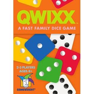 Gamewright Qwixx A Fast Family Dice Game