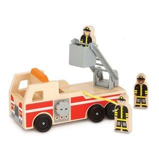 Melissa & Doug Wooden Classic Fire Truck