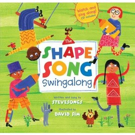 Barefoot Books Shape Song Swingalong w/ CD