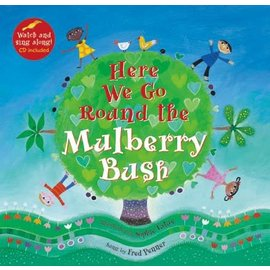 Barefoot Books Here We Go Round the Mulberry Bush w/ CD