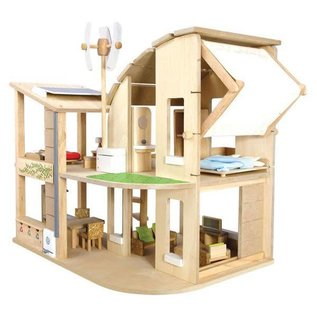 PlanToys Eco House with Furniture