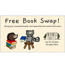 Enchanted Forest Free Book Swap Jan 25