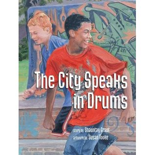 nimbus The City Speaks in Drums by Shauntay Grant