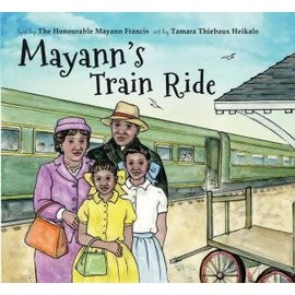nimbus Mayann's Train Ride by Mayann Francis