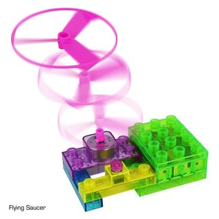 E-Blox Circuit Blox 4 Build a Real Working Flying Saucer