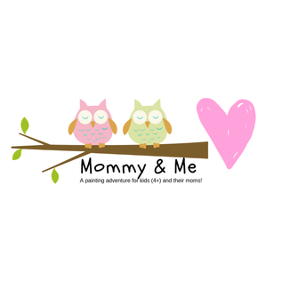 Jen Power Art Mommy and Me painting (4+)