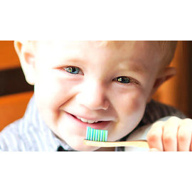 "WooBamboo WooBamboo Kid's ""Sprouts"" Toothbrush 2 Pack"
