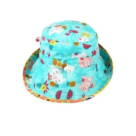 Snug as a Bug Hula Kitty Adjustable Sun Hat