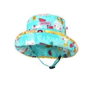 Snug as a Bug Hula Kitty Adjustable Sun Hat
