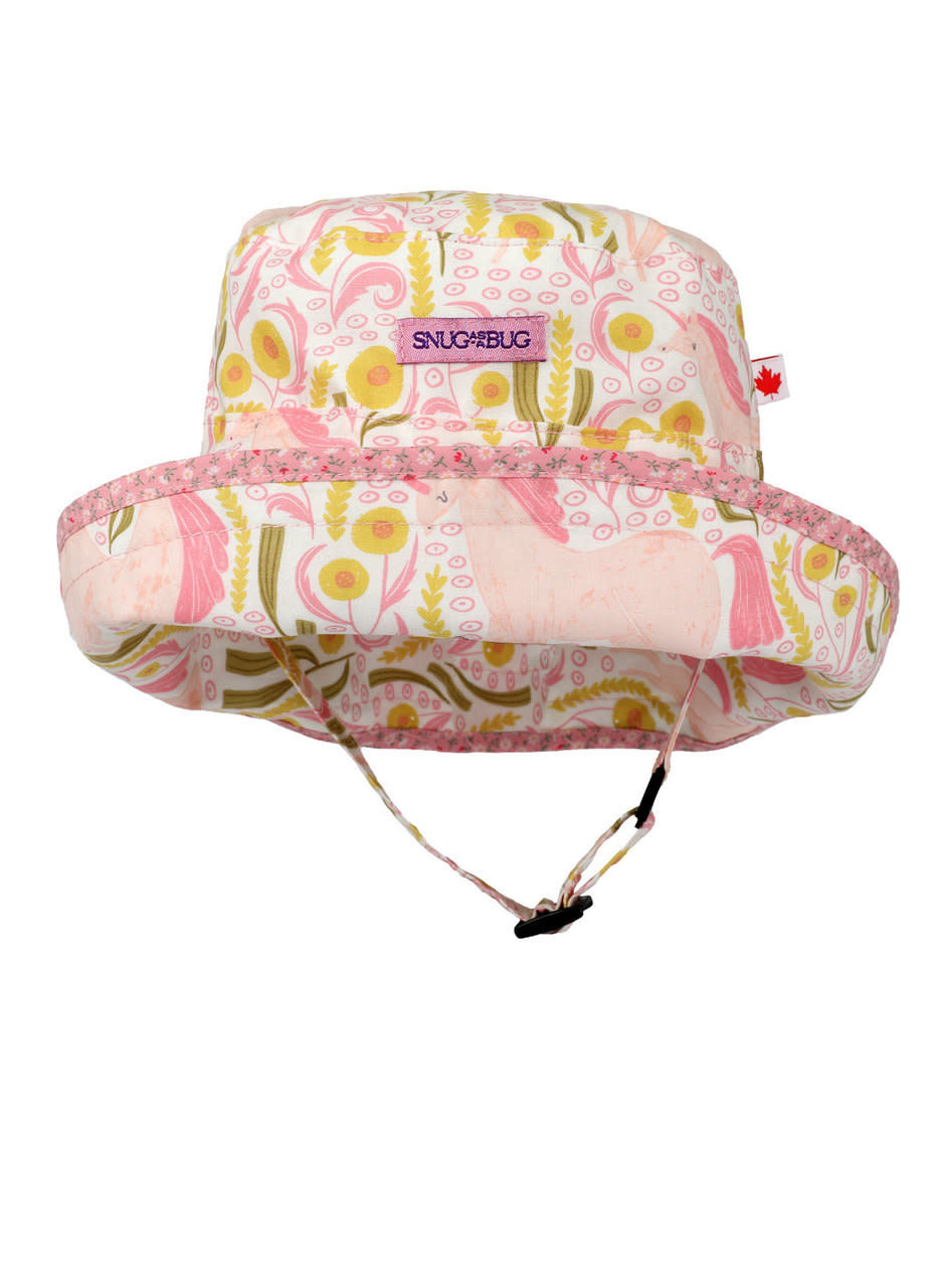 04480ba6 Snug as a Bug Unicorn Dreams Adjustable Sun Hat ...