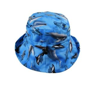 Snug as a Bug Whale Wonder Adjustable Sun Hat