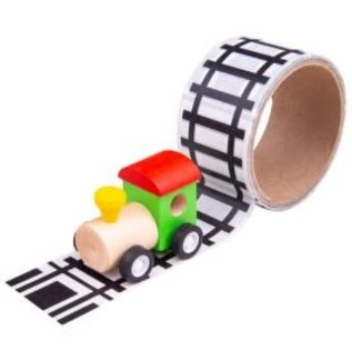 Railway Tape with Train Set