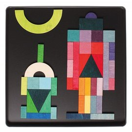 Grimms Grimms Magnetic Puzzle Geo-Graphical