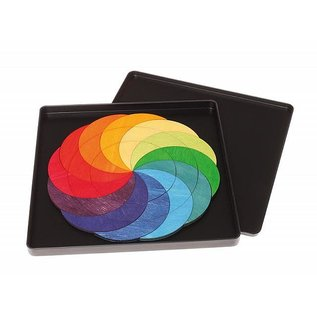 Grimms Grimms Magnetic Puzzle Rainbow Wheel