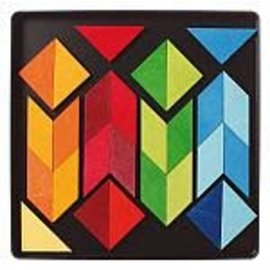 Grimms Grimms Magnetic Puzzle Square Arrows