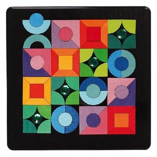 Grimms Grimms Magnetic Puzzle Triangle, Square, Circle