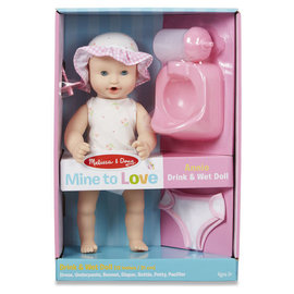 Melissa & Doug Annie Drink and Wet Doll