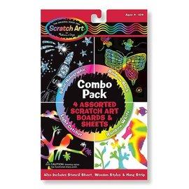 Melissa & Doug Scratch Art Combo Pack