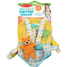 Melissa & Doug Mine to Love Carrier Play Set