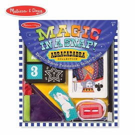 Melissa & Doug Magician Set in a Snap! Abracadabra Collection