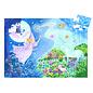 Djeco Fairy & Unicorn Silhouette Puzzle- 36pc