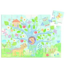 Djeco Hello Owl Silhouette Puzzle- 24pc