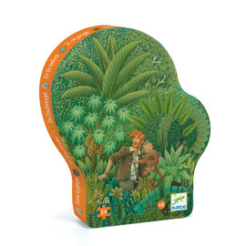Djeco In the Jungle Silhouette Puzzle- 54pc
