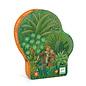 Djeco In the Jungle Silhouette Puzzle- 54pc