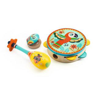 Djeco Set of 3 Instruments
