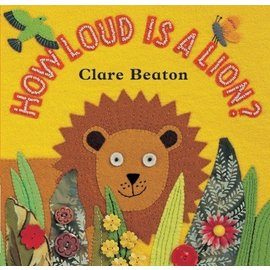 Barefoot Books How Loud is a Lion BB
