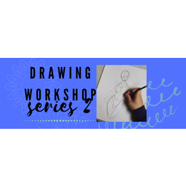 Jen Power Art Drawing Workshop for Youth Series 2 (FEB)