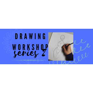 Jen Power Art Drawing Workshop for Youth Series 2 (FEB)