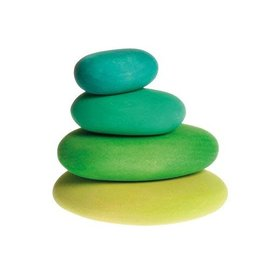Grimms Grimms Pebbles, Moss 4pc