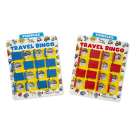 Melissa & Doug Flip to Win Travel Bingo Travel Game
