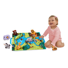 Melissa & Doug Take-Along Safari Play Mat
