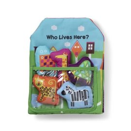 Melissa & Doug Who Lives Here? Book