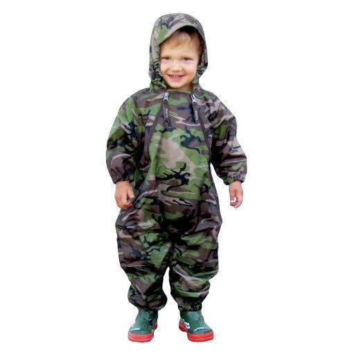 ab6c20685efbbb Tuffo Muddy Buddy Waterproof Coveralls/Rainsuit - Camo - EnchantedForest