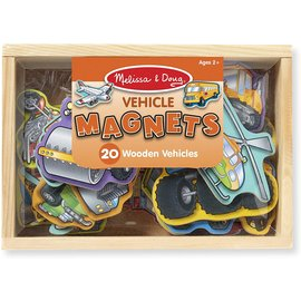Melissa & Doug Wooden Vehicles Magnets