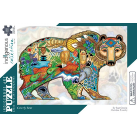 Canadian Art Prints Grizzly Bear Puzzle 1000pc