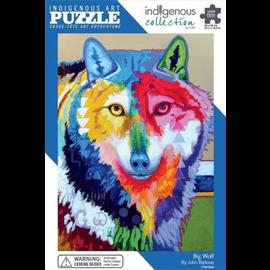 Canadian Art Prints Big Wolf Puzzle 1000pc