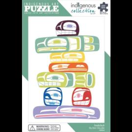 Canadian Art Prints Inukshuk Puzzle 1000pc
