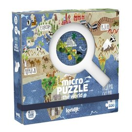 Londji Micropuzzle 600pc- Discover the World!