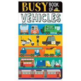 Barefoot Books Busy Book of Vehicles
