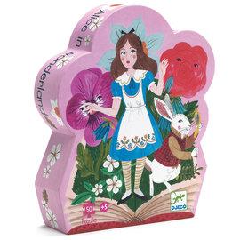 Djeco Alice in Wonderland Silhouette Puzzle- 50pc