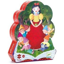 Djeco Snow White Silhouette Puzzle- 50pc