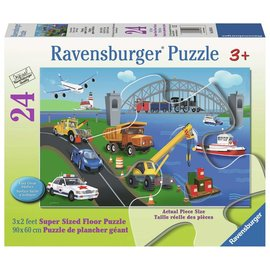 Ravensburger A Day on the Job Puzzle- 24pc Ravensburger