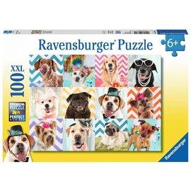 Ravensburger Doggy Disguise Puzzle- 100pc Ravensburger