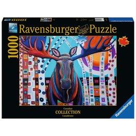 Ravensburger Winter Moose Puzzle- 1000pc Ravensburger